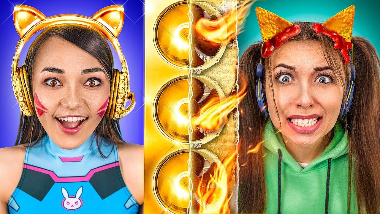 Download Rich Gamer vs Broke Gamer