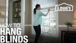 How to Hang Blinds