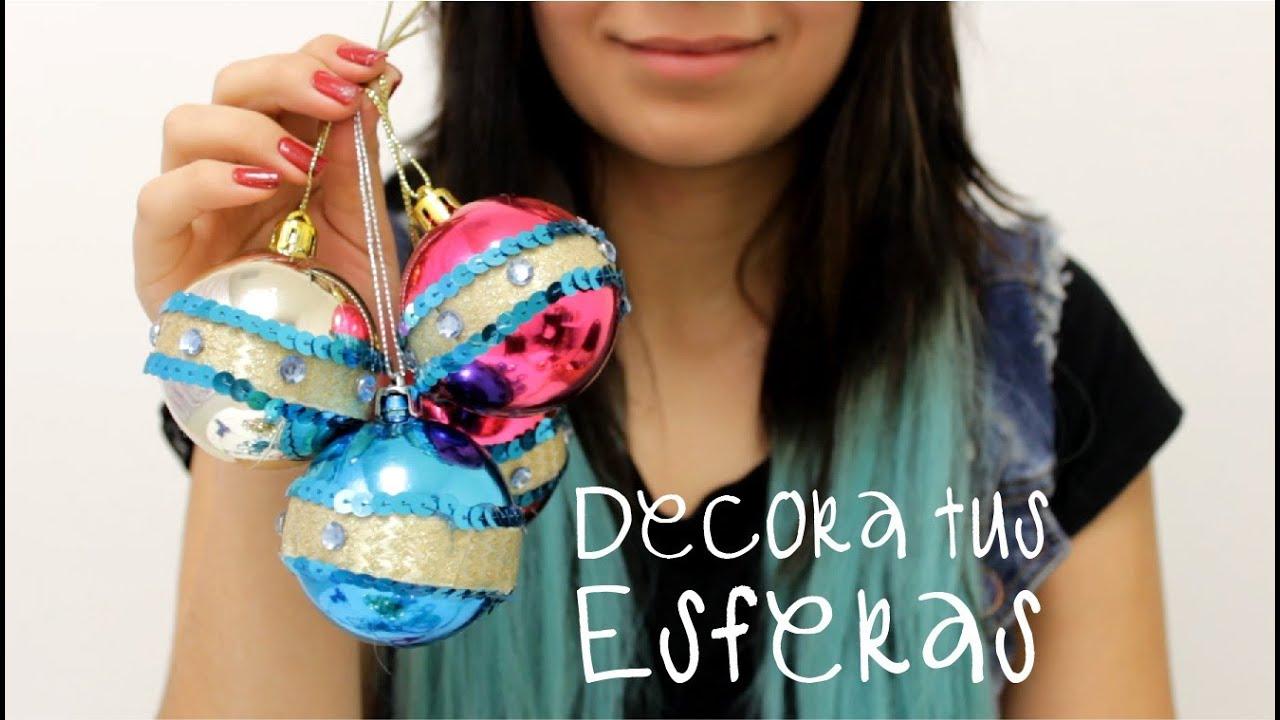 Como decorar un arbol de navidad adornos para pino navide o hablobajito youtube - Como decorar un arbol de navidad ...