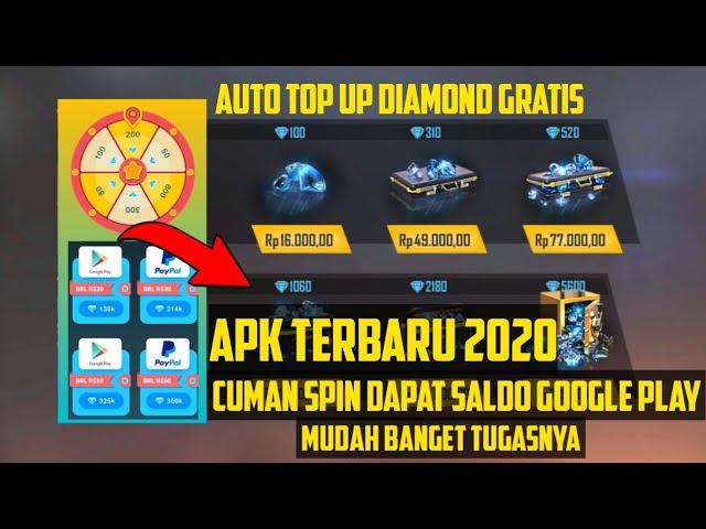 Aplikasi Penghasil Diamond Ff Terbaru Cuman Spin Dapat Saldo Google Play Secara Gratis Apk Legit Youtube