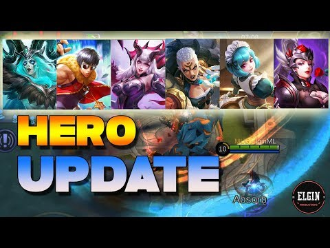 BUFFED OR NERFED? - NEW HERO CHANGES - MOBILE LEGENDS NEWS