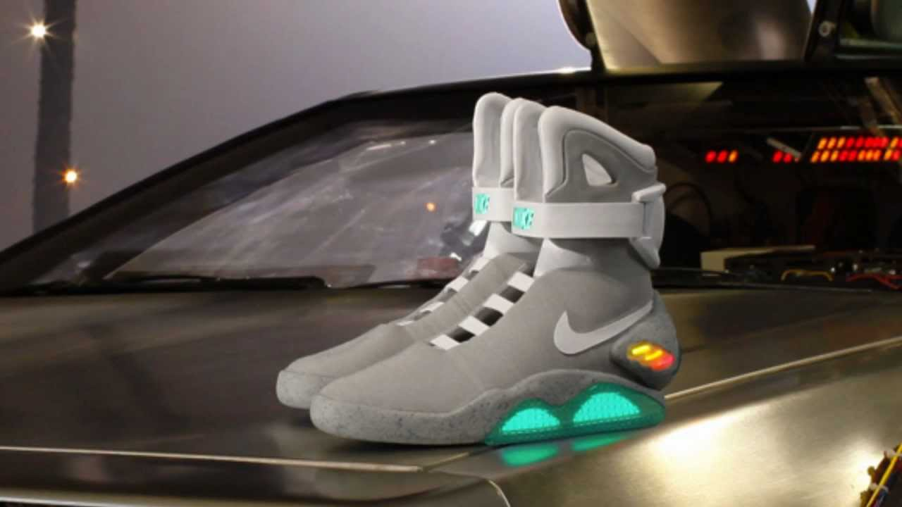 Nike Air Mag Back to the Future BTTF Tribute McFly's 2011 (HD 1080P) -  YouTube