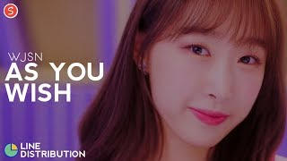 WJSN (Cosmic Girls) - As You Wish | Line Distribution