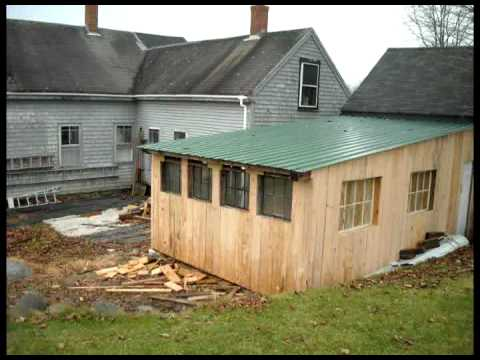 Hot Rod Shed Extension Youtube