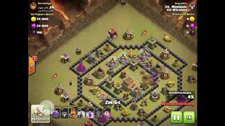Clash of Clans RH8 Drachen-Angriff II. 912 Wikinger