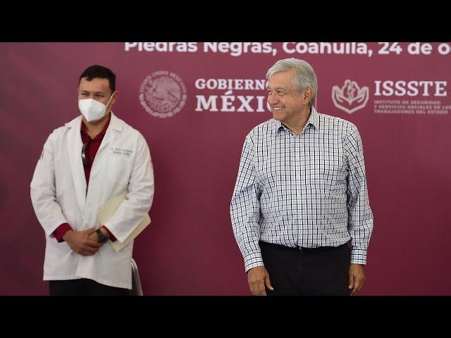 Remodelación y ampliación de la Clínica Hospital ISSSTE de Piedras Negras, desde Coahuila