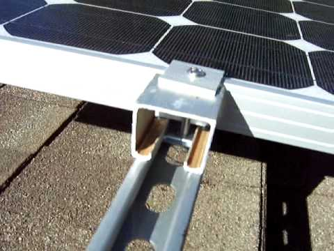 Solar Panels Mounting Brackets Youtube