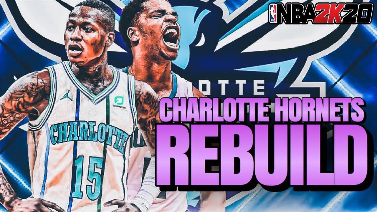 The Hardest Rebuild Of NBA 2K20   The Charlotte Hornets