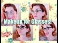 Vintage Makeup For Gals With Glasses! by CHERRY DOLLFACE