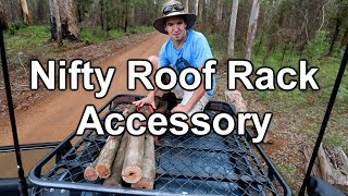 Nifty 4wd Roof Rack Accessory - SUV Doorstep
