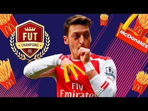 FIFA 18: O OZIL FAZ PROPAGANDA NA COMEMORAÇÃO PARA O MCDONALD
