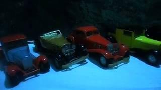 coleção carros anos 80/90 (bugatti ss 301 e Ss - 302 Sunyside)
