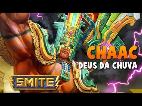 SMITE BRASIL - CHAAC Deus da Chuva! BUILD + GAMEPLAY!