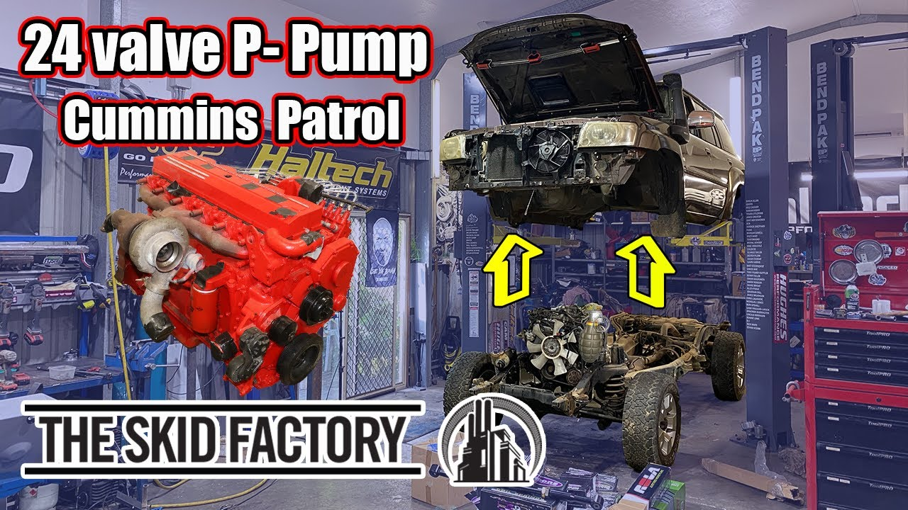Al's Got A New Project Car! [Cummins Patrol EP1] - Body Removal and Game Plan