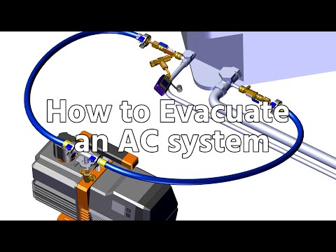 How To Evacuate An AC System, Full Vacuum Procedure