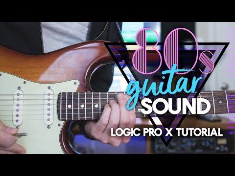 Making an 80s Guitar Sound in Logic [Logic Pro X tutorial]