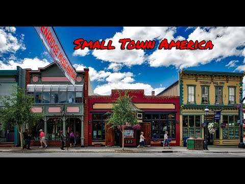 Top 10 best really small towns in America. My favorite is #2