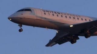 Morning Arrivals - Regional Jets - Chicago O