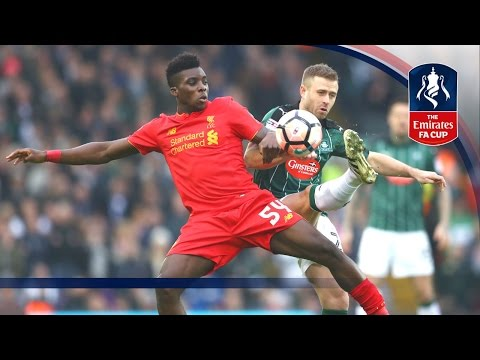 Liverpool 0-0 Plymouth Argyle - Emirates FA Cup 2016/17 (R3) | Goals & Highlights