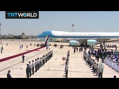 Trump Middle East Tour: US President arrives in Tel Aviv on the second leg of his foreign tour