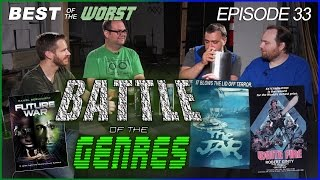 Best of the Worst: Future War, The Jar, and White Fire