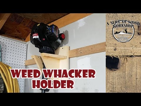How to Make a Simple Weed Eater Holder
