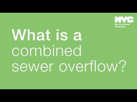 What is a combined sewer overflow (CSO)?