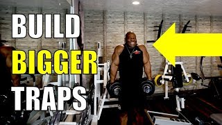 Video HOW TO BUILD BIGGER TRAP MUSCLES download MP3, 3GP, MP4, WEBM, AVI, FLV Agustus 2018