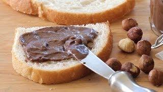 Homemade Nutella hazelnut spread recipe