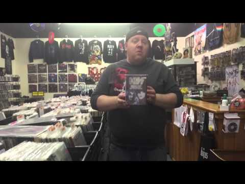 Out and about at Music and More Store for you metal fans