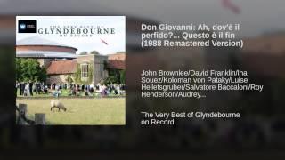 Don Giovanni: Ah, dov