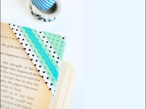 かわいいブックマークDIY : Cute and kawaii bookmarks
