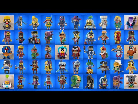 LEGO BRAWL STARS COMPILATIONS TOP BEAUTIFUL #3