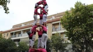 3de7 Id || Castellers De Sant Feliu || Sant Rarimi 2016