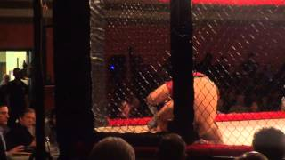 "Steven ""Man of Steel"" Calero 3rd Amateur Cage Fight 155 lbs"