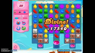 Candy Crush Level 904 Audio Talkthrough, 3 Stars 0 Boosters