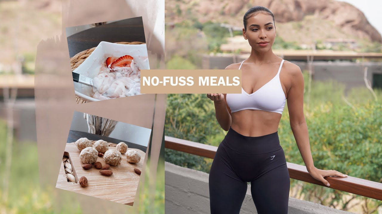 WHAT I EAT IN A DAY | NO-FUSS, QUICK MEALS