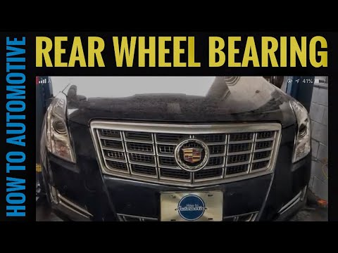 How to Replace the Rear Wheel Bearing on a 2014 Cadillac XTS