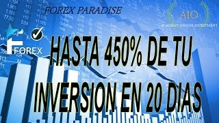 FOREX PARADISE tutorial review 2016