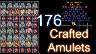176 Crafted Caster Amulets - Diablo 2 (Part 1)