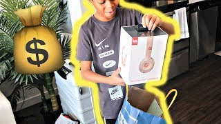 SURPRISING MY LITTLE BROTHER WITH HIS DREAM HEADPHONES!