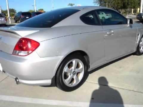 2005 Hyundai Tiburon Gs Coupe Super Low Miles Sunroof