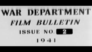 美國戰爭部-影片公告第2部:新型火焰噴射器、便橋、壕溝挖掘機(中文CC字幕)