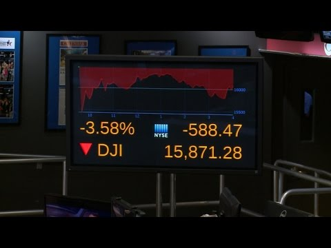 Wall Street takes beating after dramatic sell-off