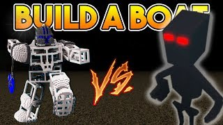 WORKING ROBOT vs SKELETON BOSS | Build a boat For Treasure ROBLOX