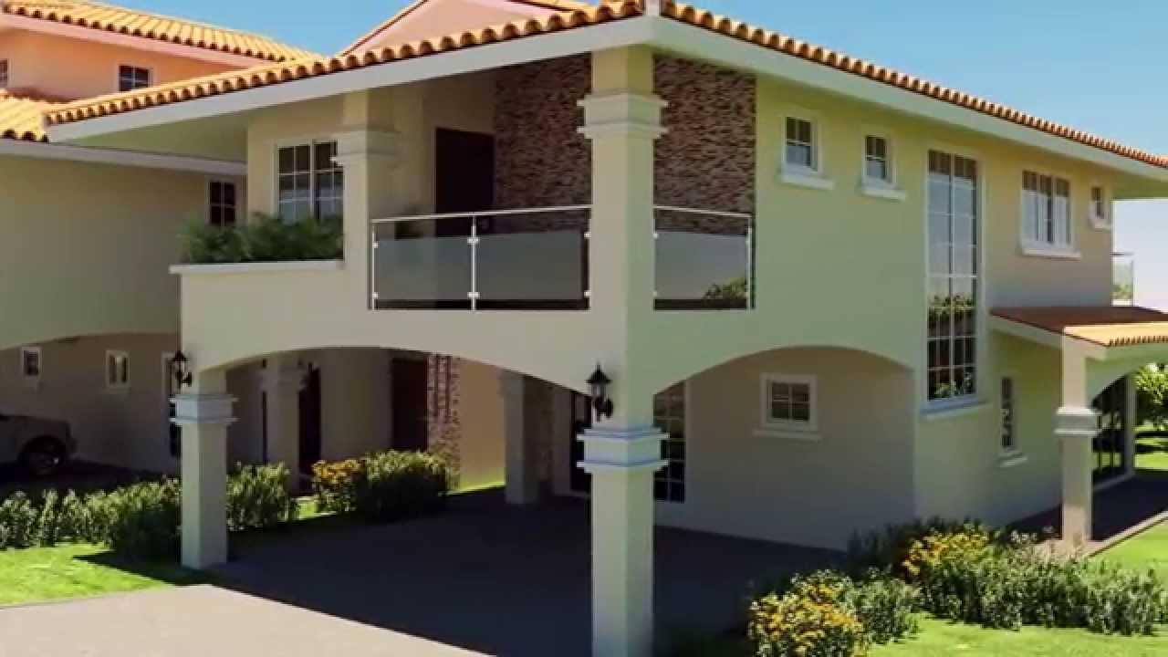 Se venden los planos de este hermoso proyecto youtube for Planos de casas economicas