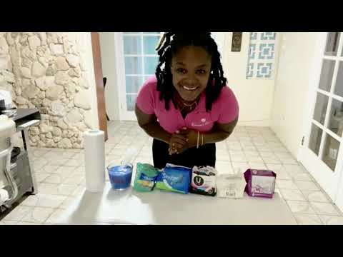 Women's Haven Absorbency Test Video: See the Difference?