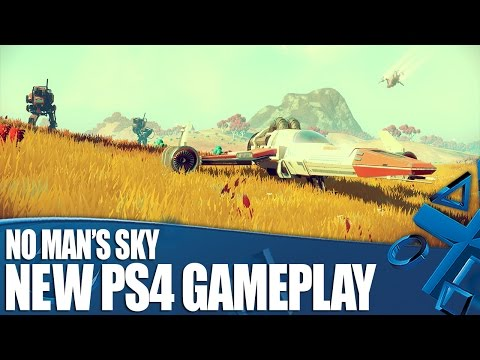 No Man's Sky - New PS4 Gameplay and Info