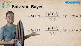 Satz von Bayes - Baumdiagramm invertieren - A posteriori Wahrscheinlichkeiten - Wissen