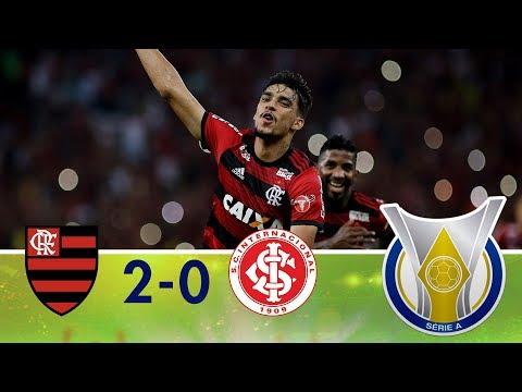 Melhores Momentos - Flamengo 2 x 0 Internacional - Campeonato Brasileiro - (06/05/2018)